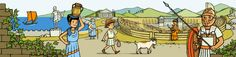 Ancient Greeks History site with fun game