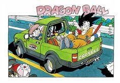 Dragon Ball by Akira Toriyama Akira, Dbz, Dragon Ball Z, Manga Anime, Anime Art, Blade Runner, Manga Dragon, Dragon Quest, You Draw