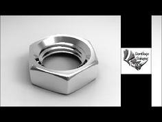 Tutorial Rhino 3D   Tutorial Rhino 5 Full   Modelar una Tuerca - YouTube