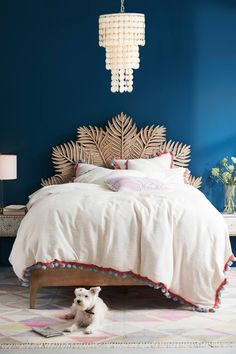 Simple and Crazy Tips Can Change Your Life: Home Decor Luxury Bedroom retro home decor mid century.Cheap Home Decor Items home decor eclectic colorful living rooms.Home Decor Industrial Minimalist. Retro Home Decor, Cheap Home Decor, Diy Home Decor, Blue Home Decor, Home Decor Bedroom, Bedroom Furniture, Bedroom Ideas, Master Bedroom, Bedroom Bed