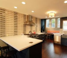 Charming Unique Kitchen Design That Mimics Swiss Army Knife System   Shaping  Silestone   Interior Design   Pinterest   Knives, Swiss Army And Kitchen  Designs Pictures