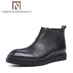 56892dd457a9f NORTHMARCH Handmade Men Boots Autumn Natural Leather Shoes Men Winter  Safety Working Boots Zapatos Hombre botas masculinas. Yesterday s price  US   333.86 ...