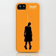 Death by Vector iPhone Case by Oliver Trigger - $35.00