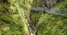 Leutaschklamm Gorge hike, Austria and Germany