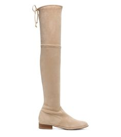 Stuart Weitzman <span class='plpItemName'>LOWLAND BOOT<br/></span><span class='plpGroupName'> in Suede</span> Signature SW Bow