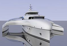 ~ Subsee Concept Yacht ~ | by Sylvain Viau Design ~ tuvie.com