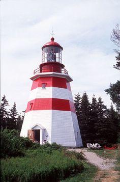 Seal Island Light Museum. Shelburne County, Nova Scotia.