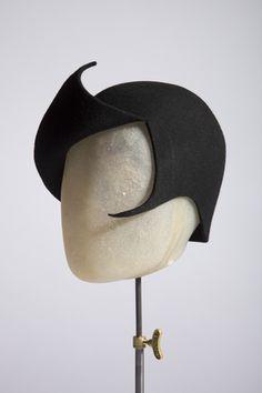 Smurf hat | Rachel Black Millinery