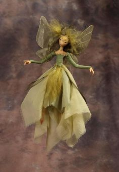 Wendy Froud Faerie Installation In France. I love this Faerie of Wendy Froud, she is simply delightful