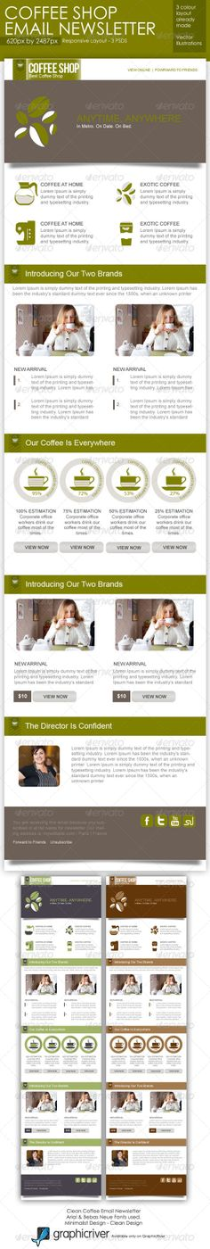 email brochure template - 1000 images about coffee tri fold brochure template on