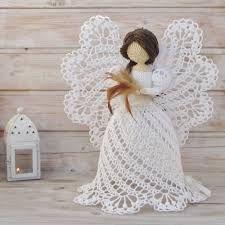 Risultati Immagini Per Schemi Uncinetto Angeli Fiocchi Di Neve