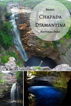 Adventure travel in Chapada Diamantina National Park, located just outside of Lencois in Brazil. See a different side of Brazil and explore Brazil off the beaten track.