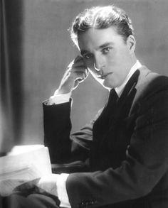 """Sir Charles Spencer """"Charlie"""" Chaplin - British comic actor and filmmaker who rose to fame in the silent film era. Photo by Adolph de Meyer Charlie Chaplin, Vevey, Harlem Renaissance, Classic Hollywood, Old Hollywood, Hollywood Cinema, Hollywood Stars, Charles Spencer Chaplin, Billie Burke"""