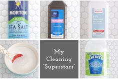"""'My All-Time """"Superstar"""" Cleaning Ingredients...!' (via One Good Thing by Jillee)"""