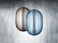 PLASS GRANDE suspension lamps designed by Nichetto Luca for FOSCARINI.    http://santiccioli.com/en/collections/?filter=product&name=plass-grande