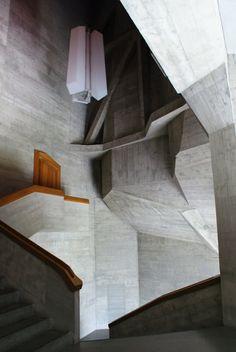 Rudolf Steiner's Goetheanum, Dornach Switzerland
