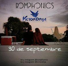 """""""30 de septiembre"""" es el nuevo Video Lyric Romphonics Ft. Victor Drija http://crestametalica.com/30-septiembre-nuevo-video-lyric-romphonics-ft-victor-drija/ vía @crestametalica"""