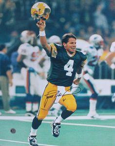 Brett Favre Green Bay Packers Autographed 16x20 Photo