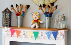 DIY Birthday party for little book lovers. Busy Town, Richard Scarry|Huckle Cat|Lowly Worm
