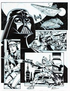 Bruce Timm's drawings of characters from DC, Star Wars, Hellboy, and Marvel - Album on Imgur