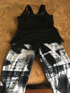 e5b2953844 Nike Womens RacerBack Tank Dri Fit   Adidas Geometric Crop  fashion   clothing  shoes