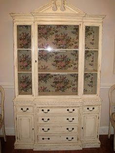 China Cabinet painted with Chalk Paint® deocrative paint by Annie ...