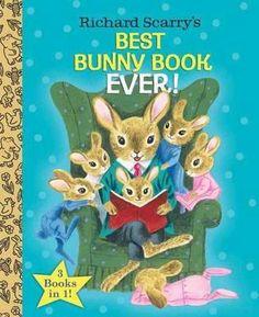 Best Bunny Book Ever!, Little Golden Book Favorites By Richard Scarry, 9780385384674., Literatura dziecięca