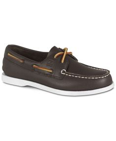 Sperry Kids' Intrepid Jr Leather Boat Shoe Toddler/Preschool | Leather boat  shoes, Toddler preschool and Boat shoe