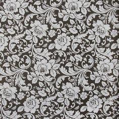 Обои на бумажной основе 0,53х10 м, Вальс черный Эл19217, Обои декоративные - Каталог Леруа Мерлен