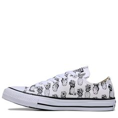 98211514998 Converse Chuck Taylor All Star Low Top Sneaker White  Black Converse High