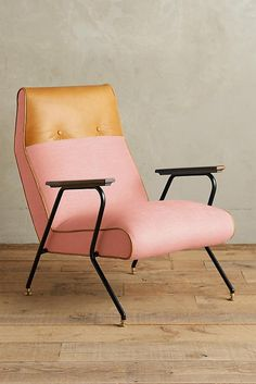 Anthropologie Linen Quentin Chair
