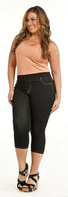 Just Living Wide Leg Pants (Plus) $78 | curvy FASHION | Pinterest ...