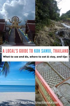A local's guide to Koh Samui, Thailand; top attractions in Koh Samui restaurants, Koh Samui hotels, Koh Samui Koh Samui travel guide Visit Thailand, Thailand Travel, Japan Travel, Thailand Honeymoon, Travel Guides, Travel Tips, Travel Articles, Travel Reviews, Samui Thailand