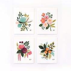 Rifle Paper Co. Botanical Card 8 Pack