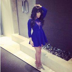 K Michelle Blue Hair Styles ... michelle on Pinterest | K michelle, K michelle hair and Follow me