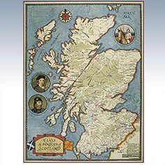 Clan Map of Scotland  $50
