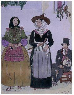"""Tipos"", anys 1935-36 - Autor: Joan d'Ivori -Joan Vila Pujol- (1890 - 1947)"