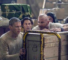 """Después de ocho años, vuelve """"Prison Break"""" con su quinta temporada  Dominic Purcell, Wentworth Miller"""