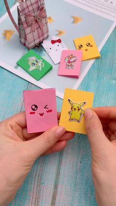 books and journals paper Diy Origami Lovely Book Diy Crafts Hacks, Diy Crafts For Gifts, Diy Arts And Crafts, Fun Crafts, Paper Crafts Origami, Paper Crafts For Kids, Diy Origami Books, Diy Projects Paper, Diy Paper