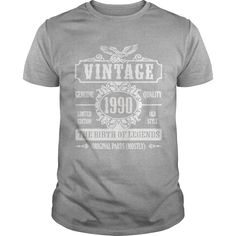 Vintage 1990 The Birth Of Legends T-Shirt #gift #ideas #Popular #Everything #Videos #Shop #Animals #pets #Architecture #Art #Cars #motorcycles #Celebrities #DIY #crafts #Design #Education #Entertainment #Food #drink #Gardening #Geek #Hair #beauty #Health #fitness #History #Holidays #events #Home decor #Humor #Illustrations #posters #Kids #parenting #Men #Outdoors #Photography #Products #Quotes #Science #nature #Sports #Tattoos #Technology #Travel #Weddings #Women