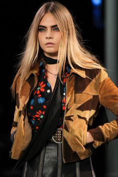 Saint Laurent Spring 2015 Ready-to-Wear - Collection - Gallery - Look 1 - Style.com