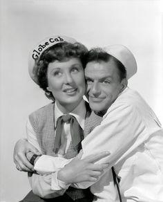 "Vintage Glamour Girls: Betty Garrett & Frank Sinatra in "" On The Town """