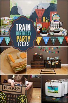 Train Themed Birthday Party Ideas | eBay