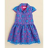 Lilly Pulitzer Girls' Parris Dress - Sizes 4-6