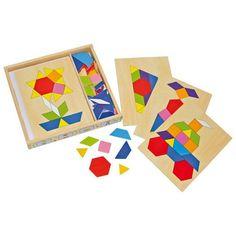 Legler Mozaika v boxe | edukacnehracky.sk Puzzle Box, Ikea Train, Puzzles, Educational Toys, Woody, Math, Montessori, Shop, Inspiration