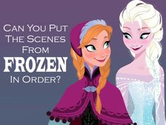 """Quiz: Can You Put The Scenes From """"Frozen"""" In Order?"""