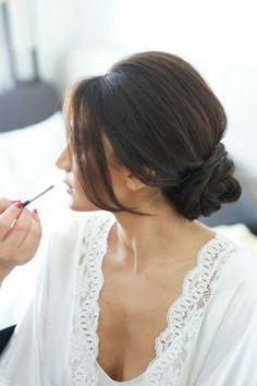 idée de coiffure de mariée tendance