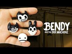 bendy and the ink machine diy Fondant Animals Tutorial, Fondant Tutorial, Homemade Gifts, Diy Gifts, Christmas Fayre Ideas, Fairy Tea Parties, Clay Mugs, Ideas Geniales, Gaming Wallpapers