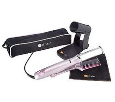Instyler rotating hot iron..Large barrel..Love it too