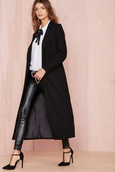 Nasty Gal Great Lengths Jacket - Jackets